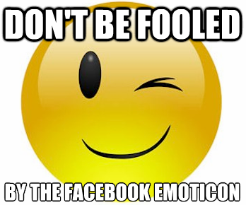 Facebook emoticon
