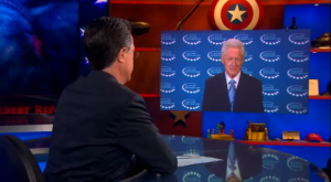 stephen colbert bill clinton